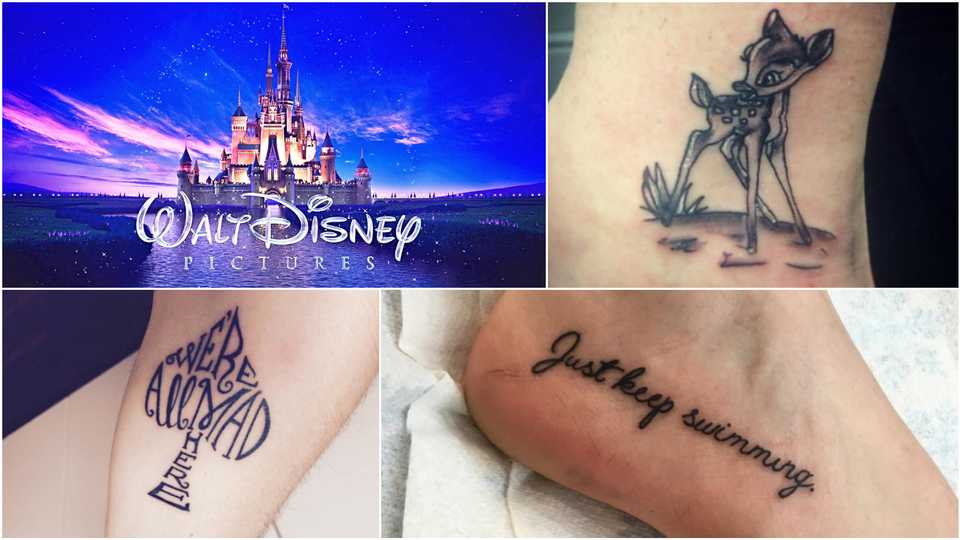 Disney The 25 Cutest Tattoos Inspired By The Films Closer