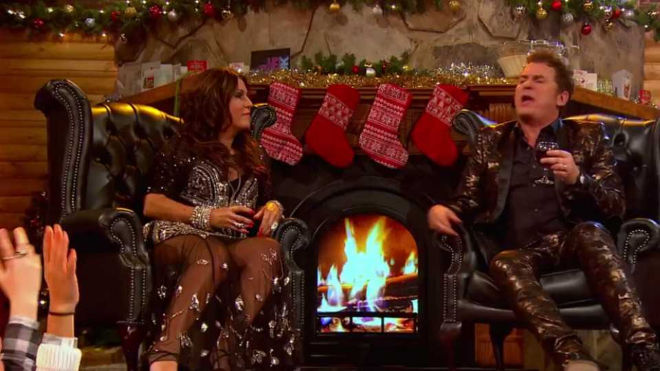 Shane Richie and Jessie Wallace perform Fairytale of Walford on Lip ...