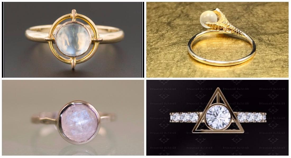 Attractive Harry Potter Fans, You Will DEFINITELY Want To Check Out These Magical Engagement  Rings (suitable For Muggles And Wizards Alike!)