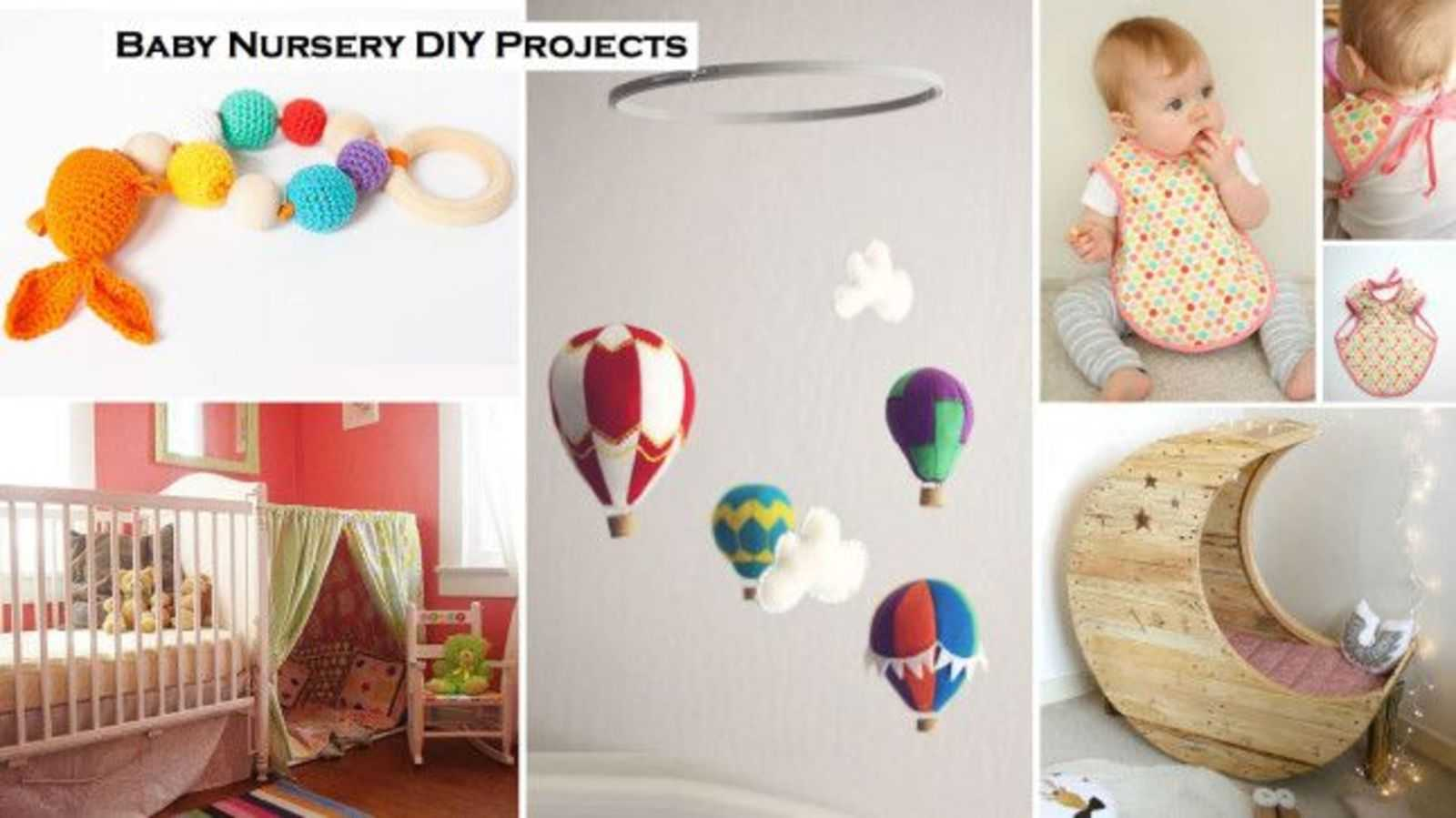 Transform your babys nursery and wardrobe with these amazing diy projects