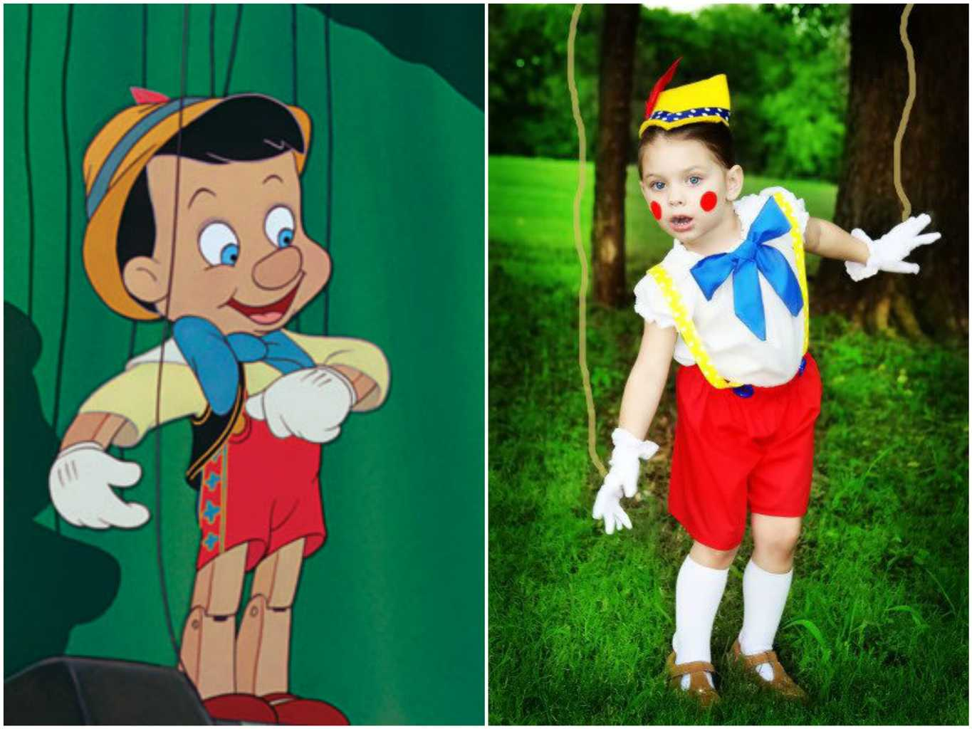 World book day 51 easy diy costume ideas closer a classic book character you cant go far wrong with pinocchio credit disney etsy heavenly things for you disney etsy heavenly things for you solutioingenieria Choice Image