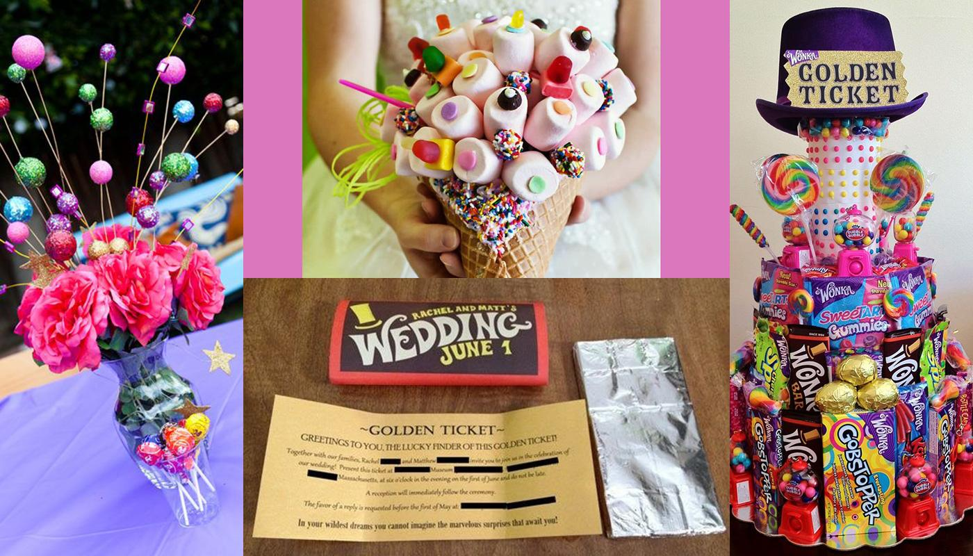 Wedding Inspiration Roald Dahl Charlie