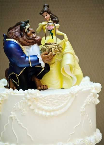Beauty And The Beast Wedding Cake Topper Uk