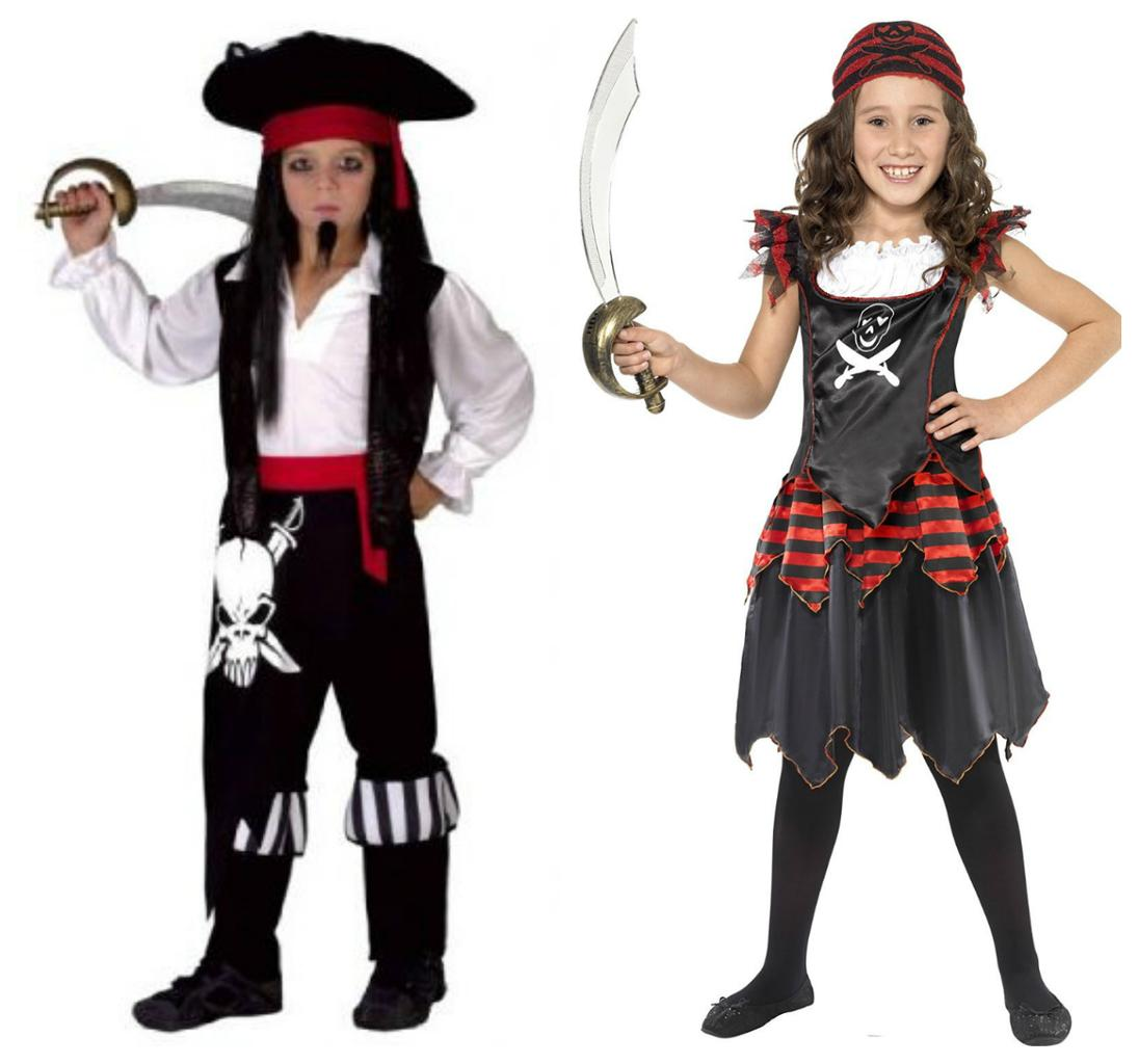 ... possibly be done by rootling through all available wardrobes of willing (or unwilling) loved ones but these pirate costumes are particularly cool ...  sc 1 st  Closer magazine & 30 childrenu0027s Halloween costumes from £7.50 | Closer