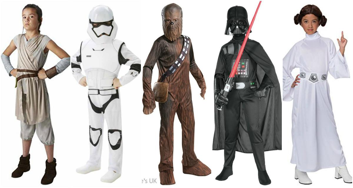 Another opportunity for either a multiple-children household u2013 OR if you and your pals with kids are big Star Wars fans (arenu0027t we all?)  sc 1 st  Closer magazine & 30 childrenu0027s Halloween costumes from £7.50 | Closer