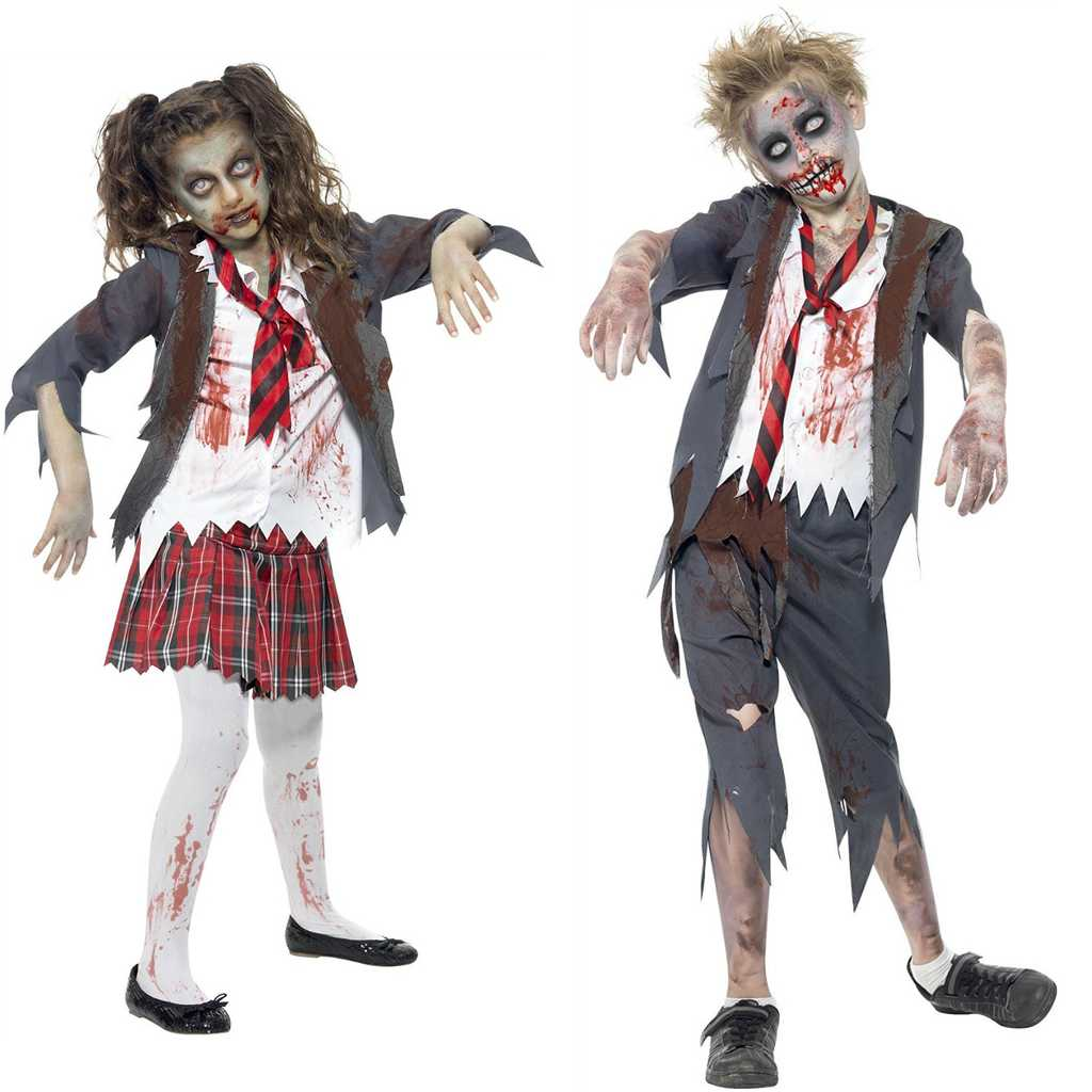 its always better to start off with the most obvious halloween costumes isnt it of course you could make your kids into the undead by ripping up old