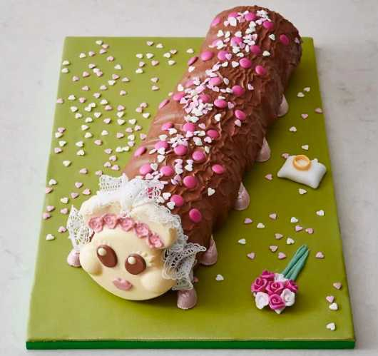 Connie Caterpillar Wedding Cake