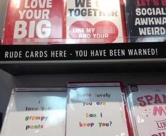 Shock As Paperchase Puts X Rated Valentines Day Cards In The Kids