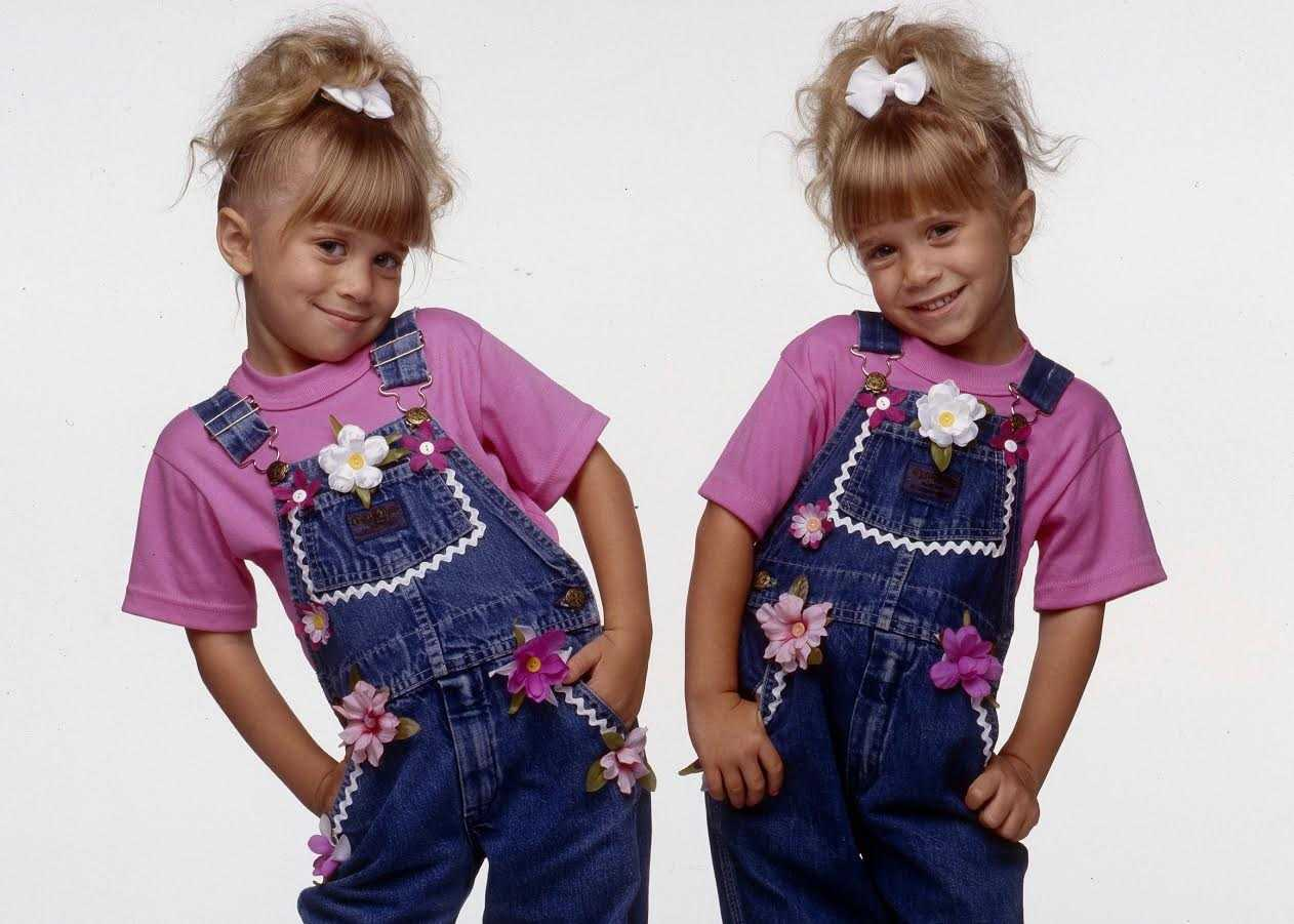 How cute are the olsen twins credit getty getty