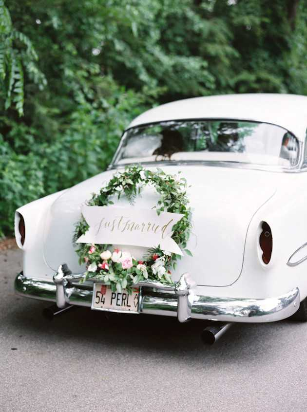 7 wonderful wedding car decorations that will have you reaching for ...