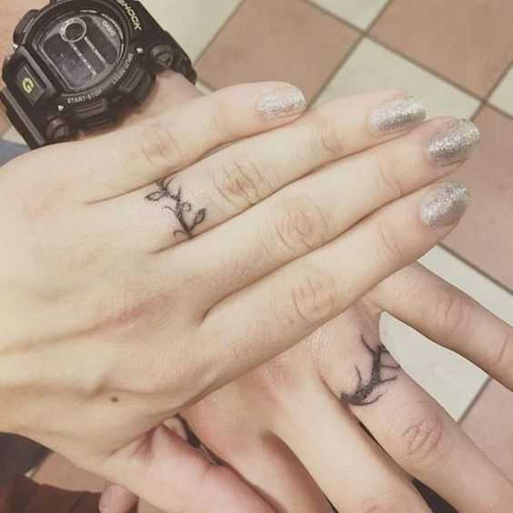 21 wedding ring tattoo ideas ideas for your never-ending love story ...