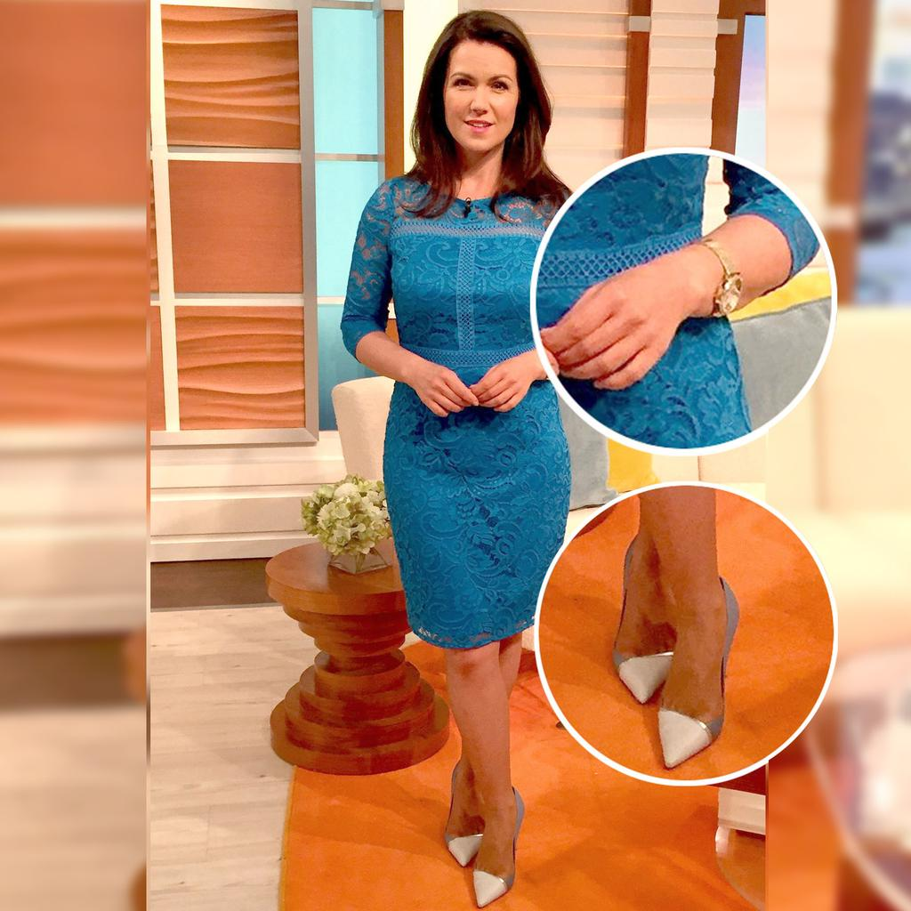 Susanna Reid's Lovely Lace Dress Is On Sale And Costs Just 40 photo