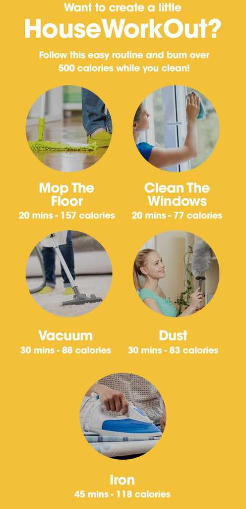 Housework Can Burn Thousands Of Calories If You 39 Re Doing