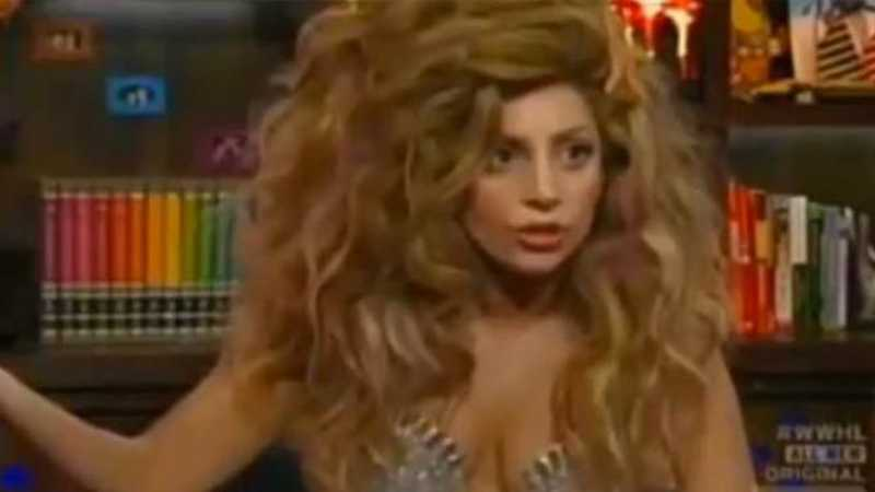 Lady Gaga, dressed as a mermaid, chats about lesbian past: