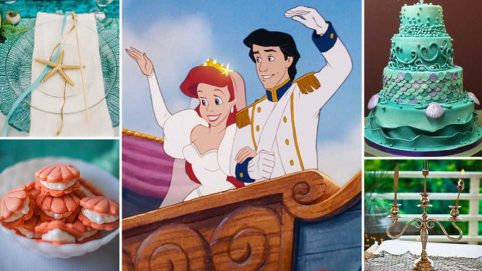 Wedding Inspiration How To Throw The Ultimate Disneys Little