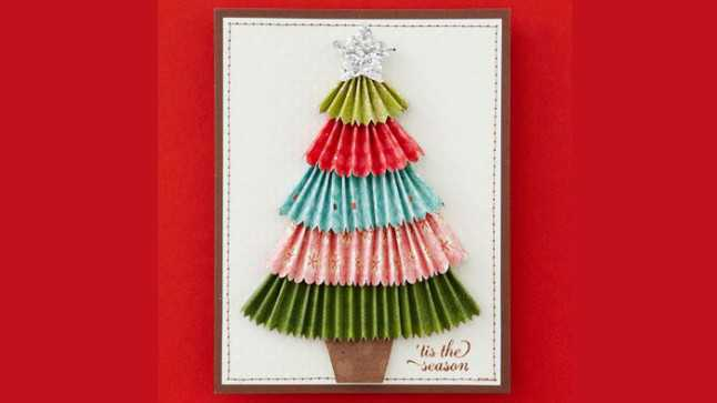 diy christmas cards  15 homemade christmas cards to make