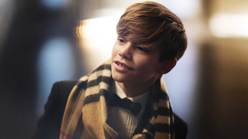 Outrage As Female Twitter Users Describe Romeo Beckham As