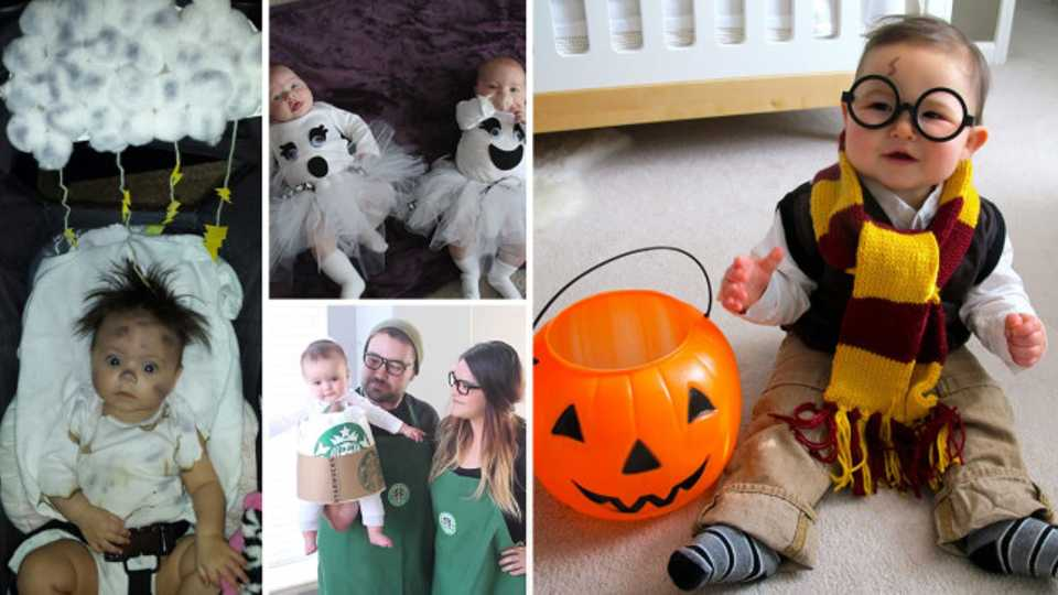 Halloween diy fun 20 adorably spooky baby toddler costume these diy baby and toddler costume tutorials are easy adorable and perfect for halloween solutioingenieria Images