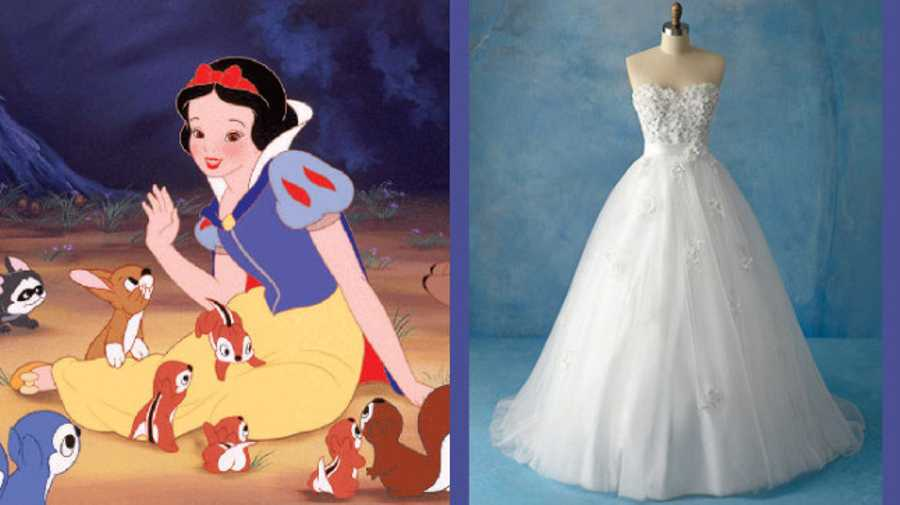 From Frozen to Cinderella: Disney wedding dresses for real-life ...