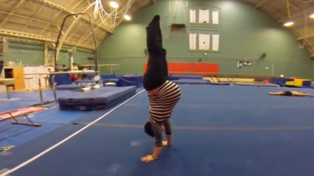 floor gymnastics moves. VIDEO: Woman Shows Off Gymnastics Skills - Whilst 35 Weeks Pregnant With Twins Floor Moves