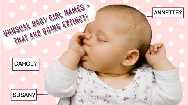unusual baby names unique baby names-glamour uk