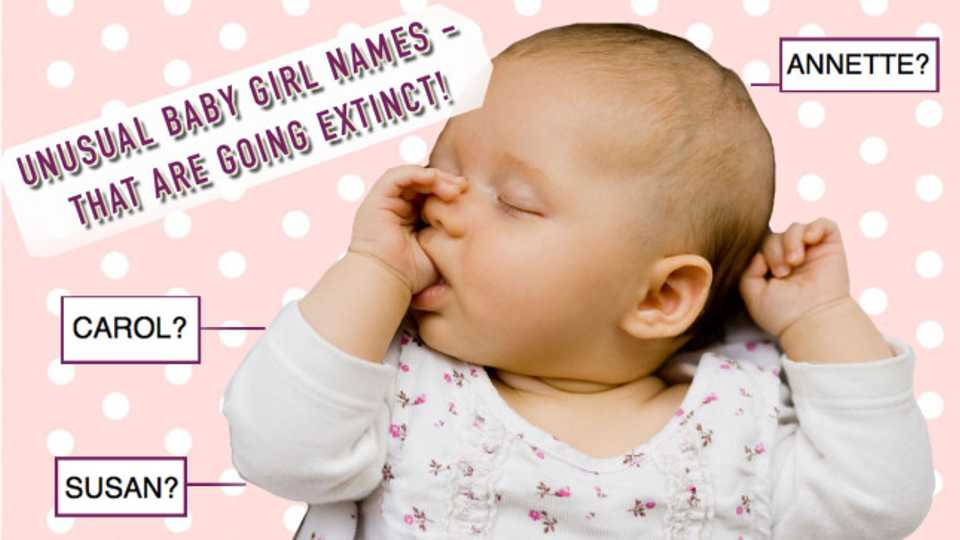 Baby girl names 11 unusual baby names that are going extinct closer looking for a truly unique baby girl name these baby girl names are all beautiful and theyre all practically extinct urmus Image collections