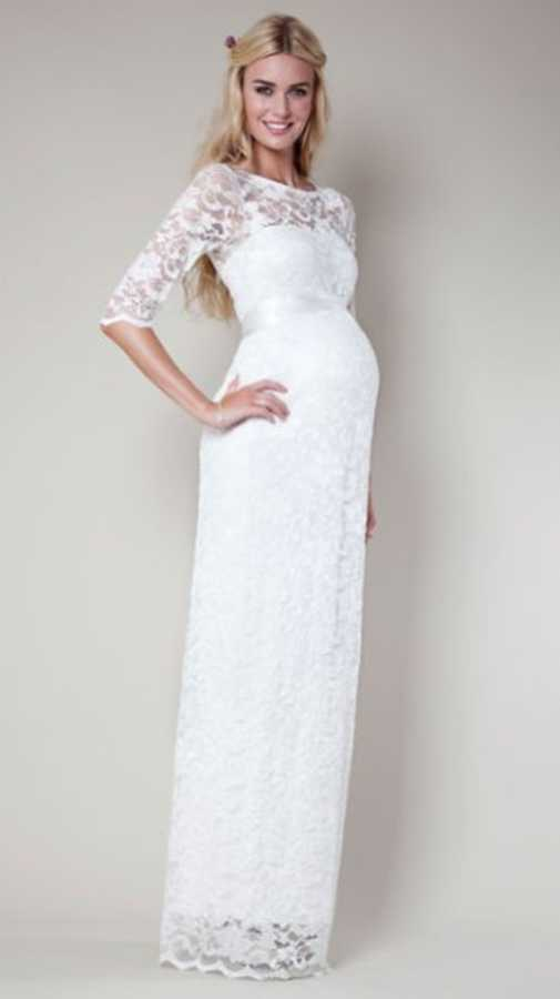 Gorgeous and affordable wedding dresses for pregnant brides | Closer