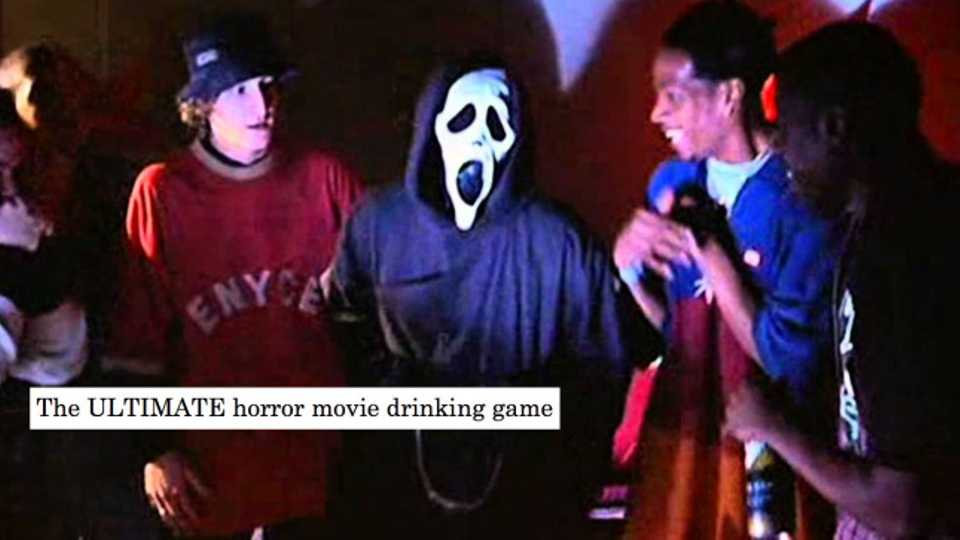 The ULTIMATE Halloween horror movie drinking game | Closer