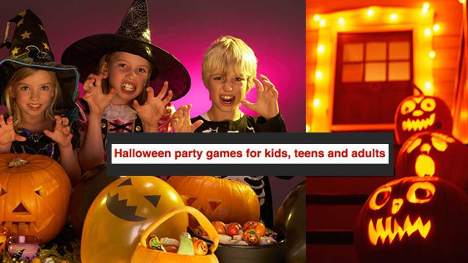 Hellish Halloween party games for kids, teens and adults | Closer