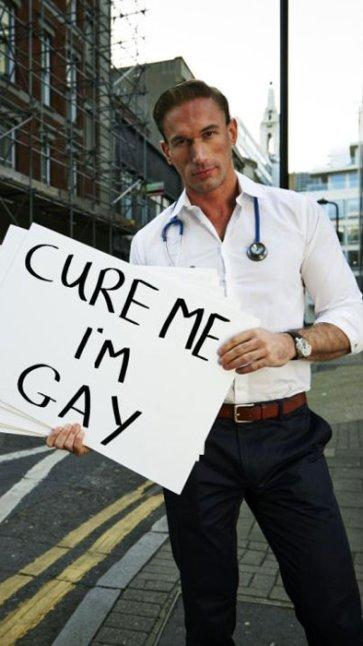 Man cured of homosexuality and christianity
