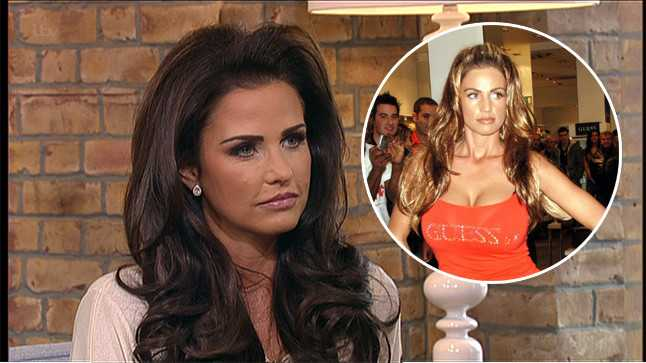She Went Back To Her Natural Breast Size For The First Time In 16 Years Last Year Now Katie Price