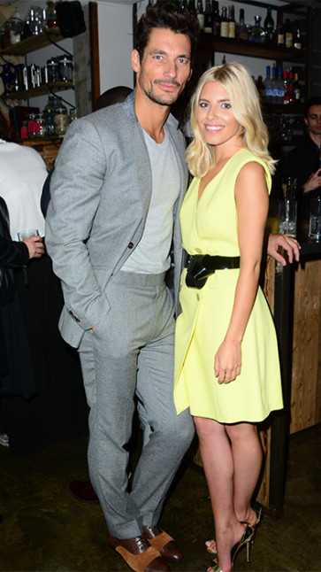 mollie king and david gandy at breaking point after disagreeing