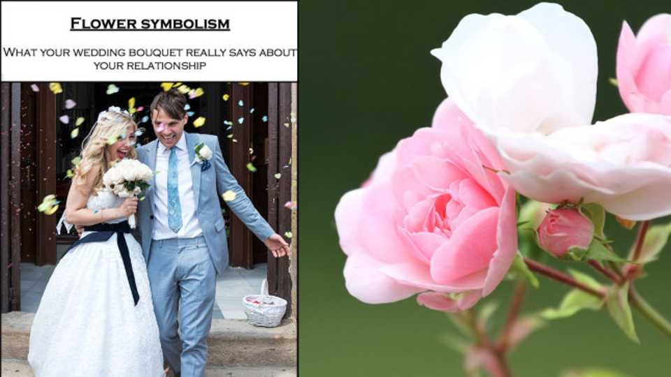 The Symbolism Of Wedding Flowers And What They Really Mean For