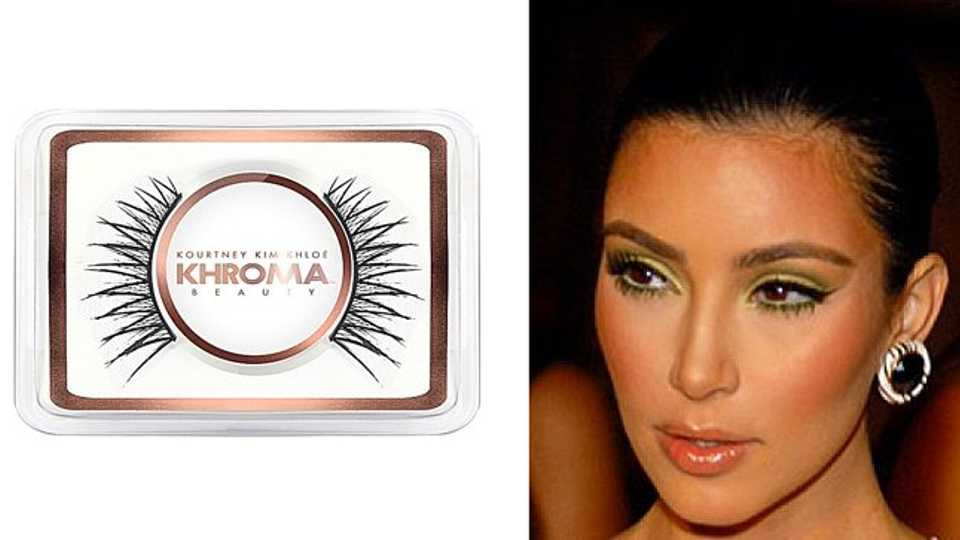 Win A Set Of Khroma Beauty Eyelashes From The Kardashian Range Closer