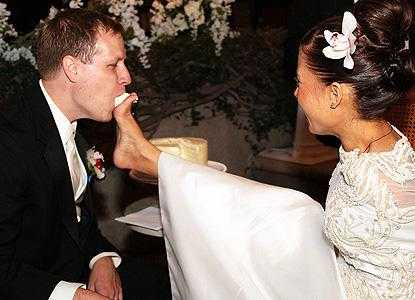 Armless Jessica Cox I Fed My Hubby Our Wedding Cake With