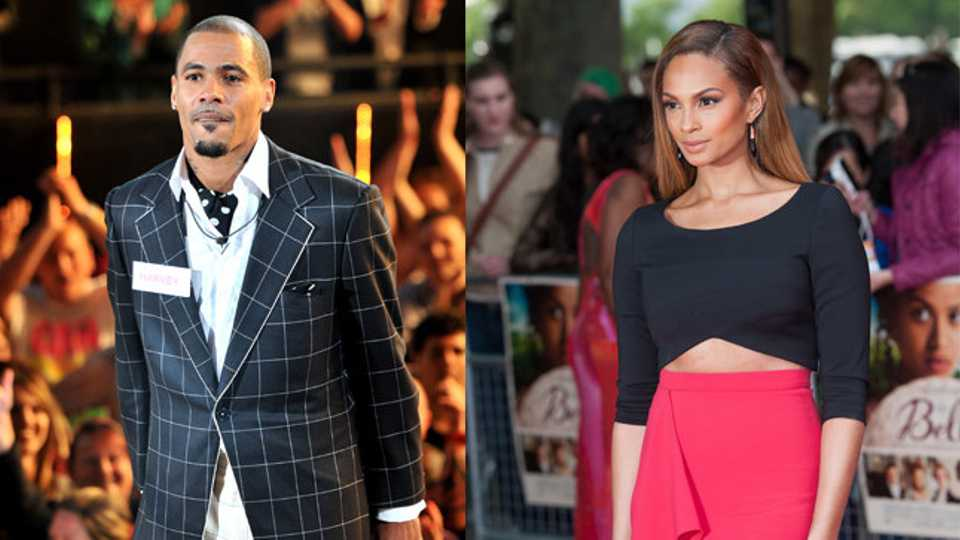Mc Harvey Alesha Dixon
