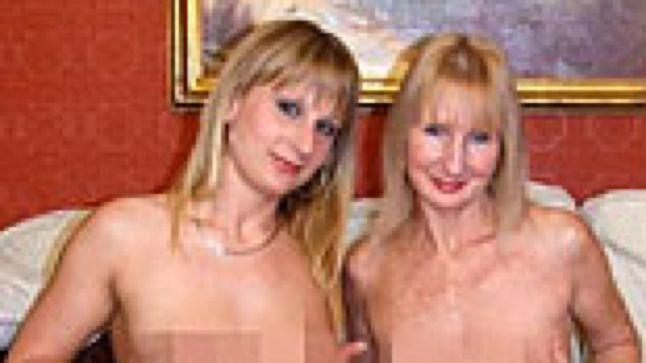 For that Mother daughter topless together