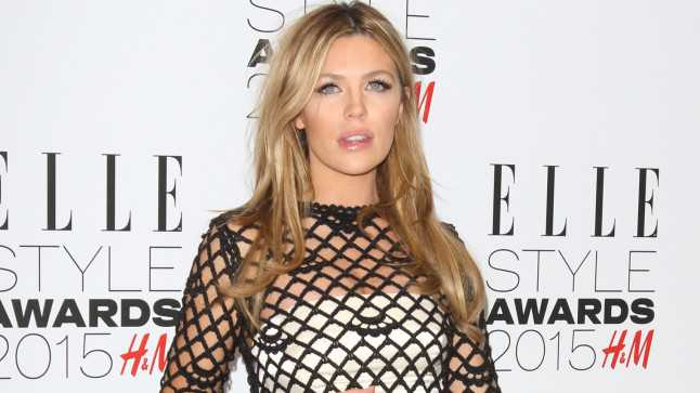 Pregnant Abbey Clancy Shows Off Naked Baby Bump In Instagram Selfie Click To See