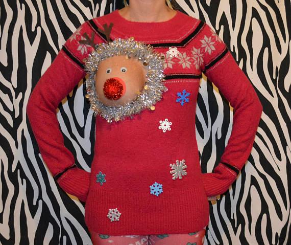 Sexy christmas jumper