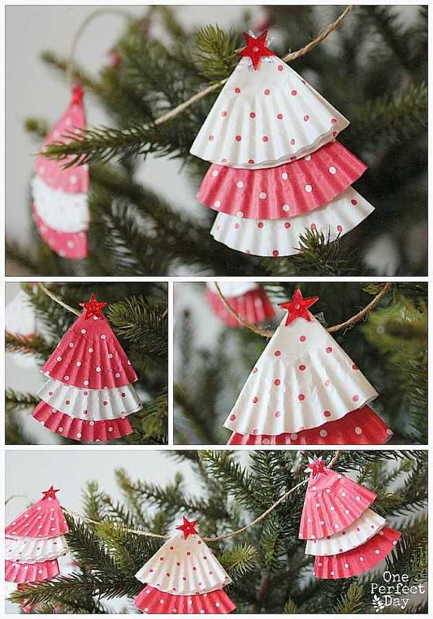 christmas diy decor tree decorations