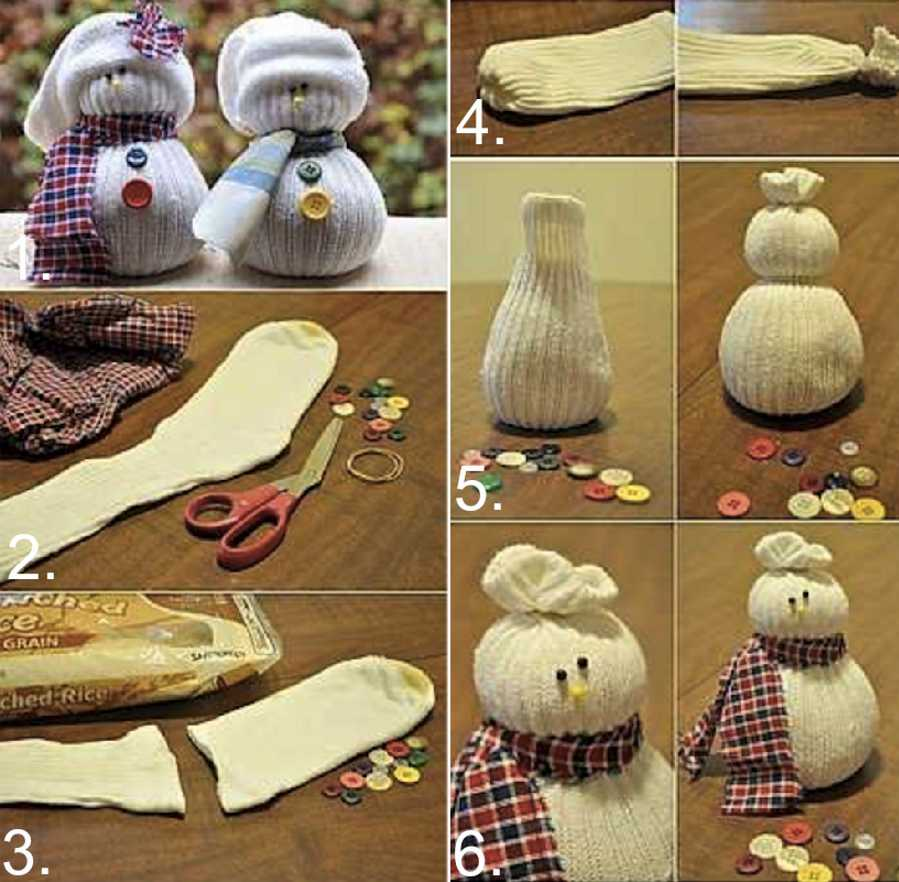christmas diy decor how to craft a snowman - Christmas Decorations To Make Yourself