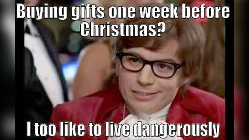 Left all your Christmas shopping til this week? You\'re not alone ...