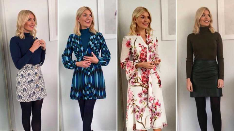 Holly Willoughby All Her Clothes From This Morning And