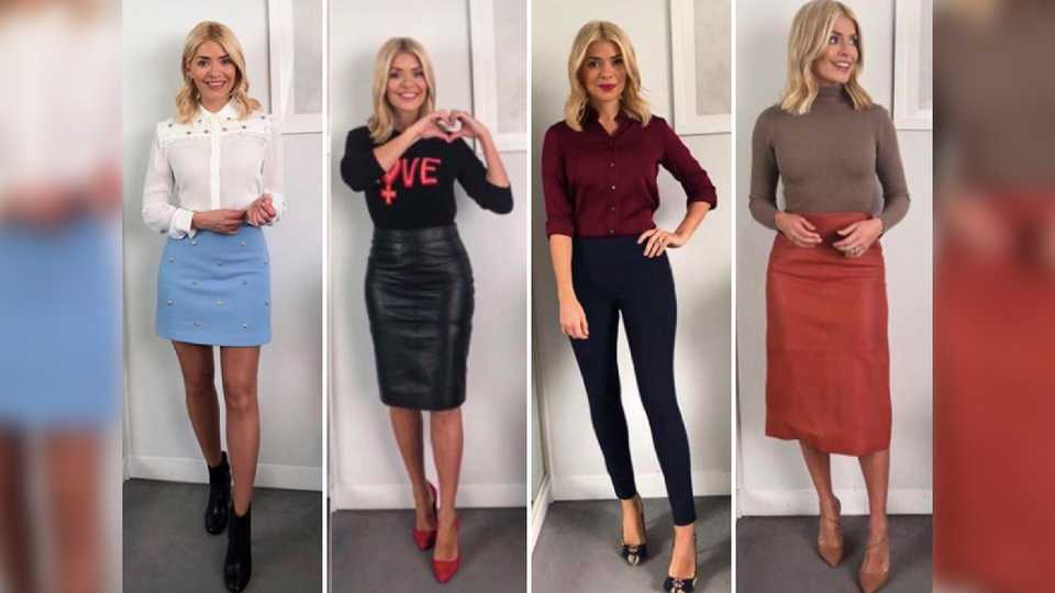 Holly Willoughby All Her Clothes From This Morning And Where To Get It Cheaper On The High
