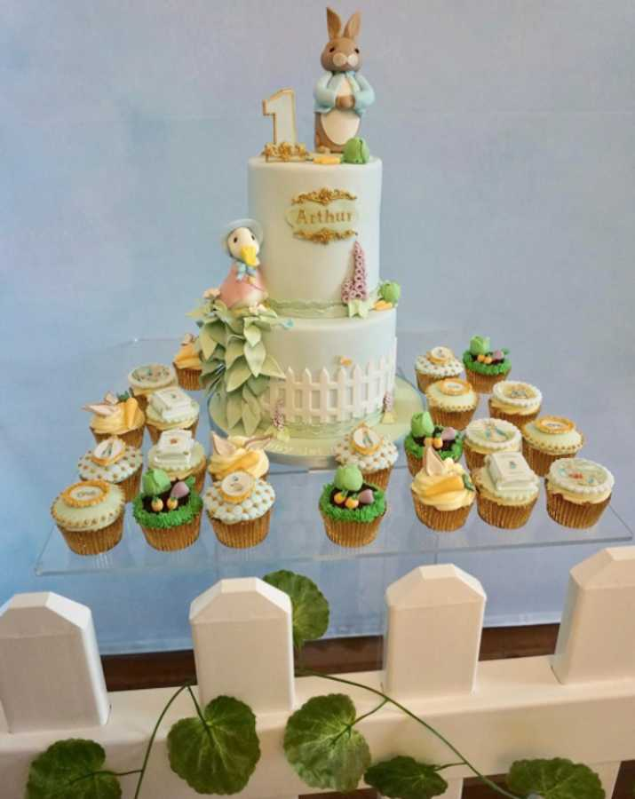 See Inside Billie Faiers Peter Rabbit Themed Party For Arthur S