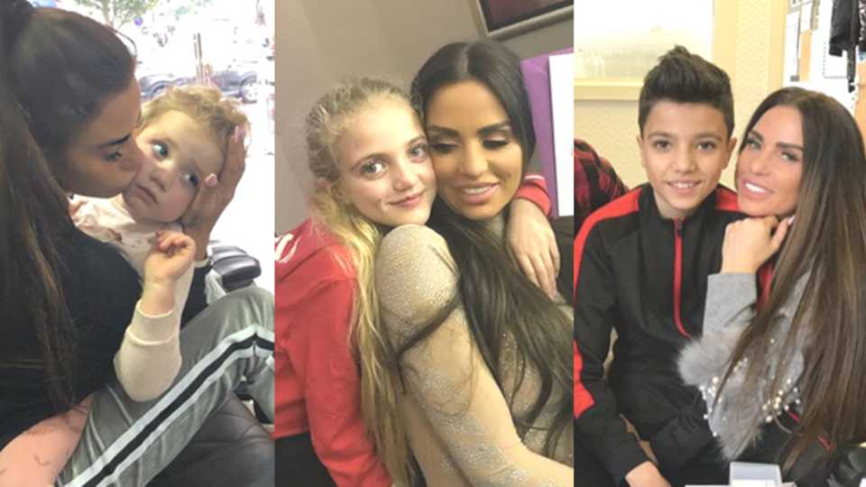 Katie price shares photos of kids after peter andre bans her from katie price shares photos of kids after peter andre bans her from seeing princess and junior closer m4hsunfo