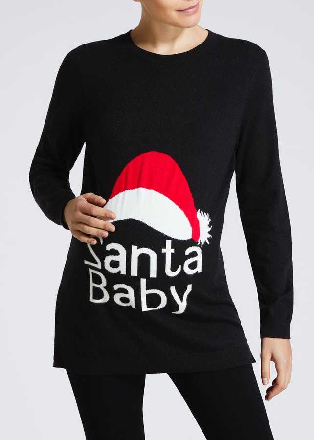 The 9 Best Maternity Christmas Jumpers This Year Closer