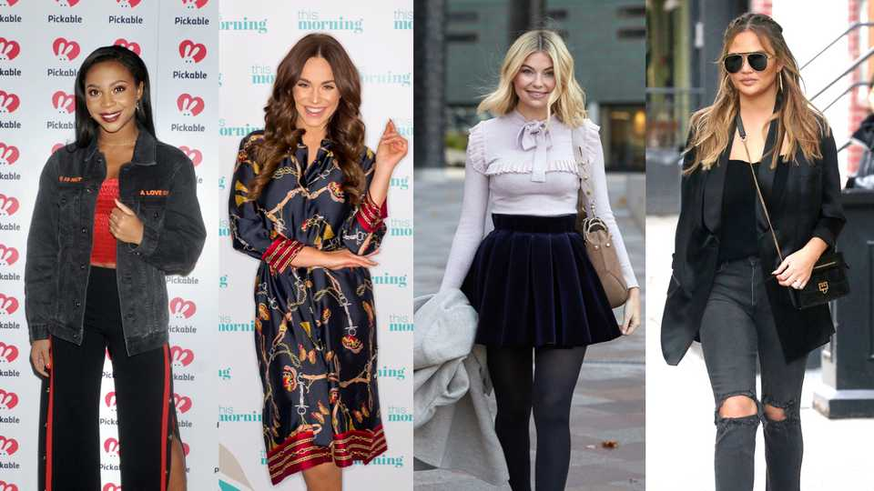 Celeb Outfits Of The Week Including Vicky Pattisons Revenge Style