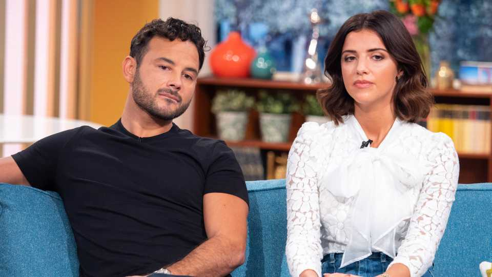 Ryan Thomas and Lucy Mecklenburgh 'on the rocks' following video of her kissing another man