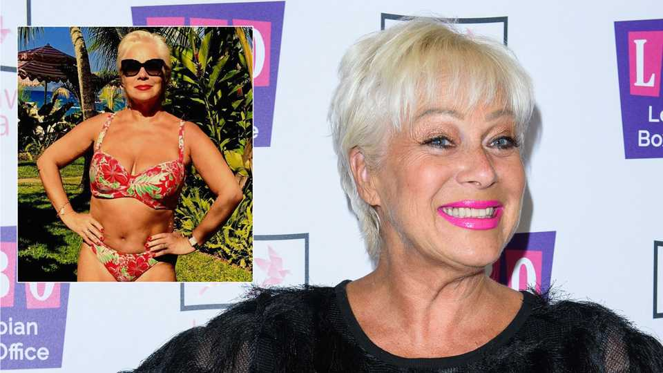 Denise Welch: 'I don't look bad for an old bird and I want to celebrate that!'